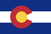 Drapeau Colorado