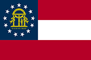 Drapeau Georgia (USA)