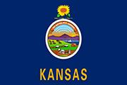 Drapeau Kansas