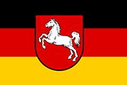 Drapeau Niedersachsen