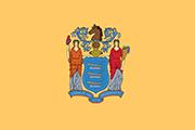 Drapeau New Jersey