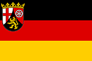 Drapeau Rheinland-Pfalz