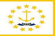 Drapeau Rhode Island