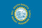 Drapeau Dakota du Sud