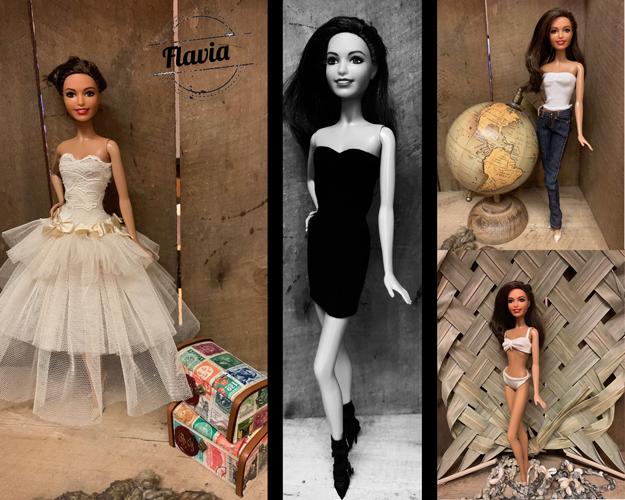 Miss Barbie Flavia