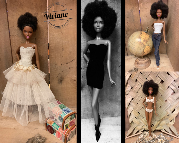 Miss Barbie Viviane