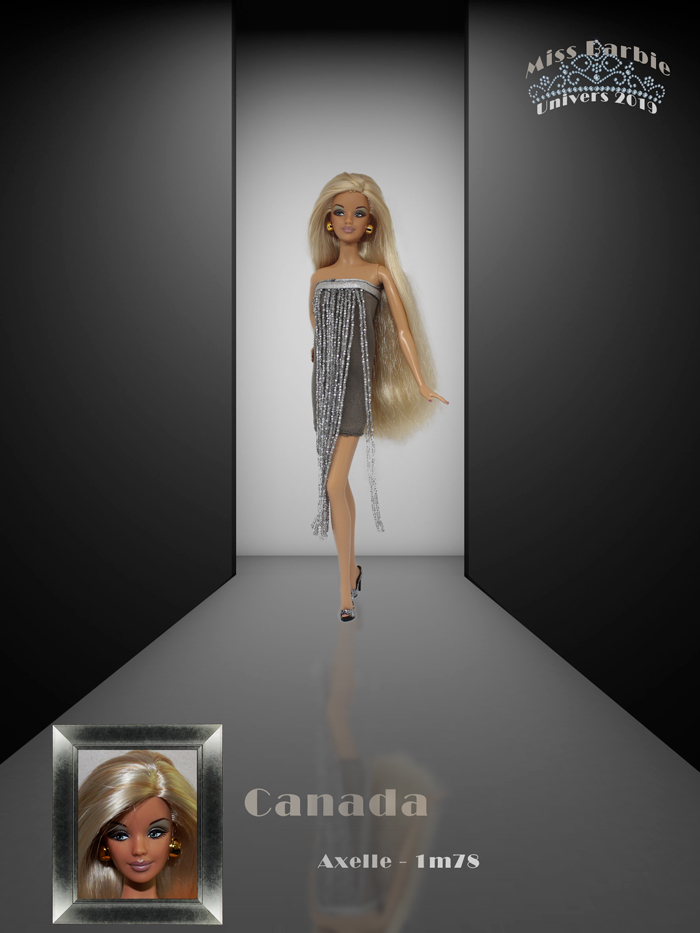 Miss Barbie Axelle