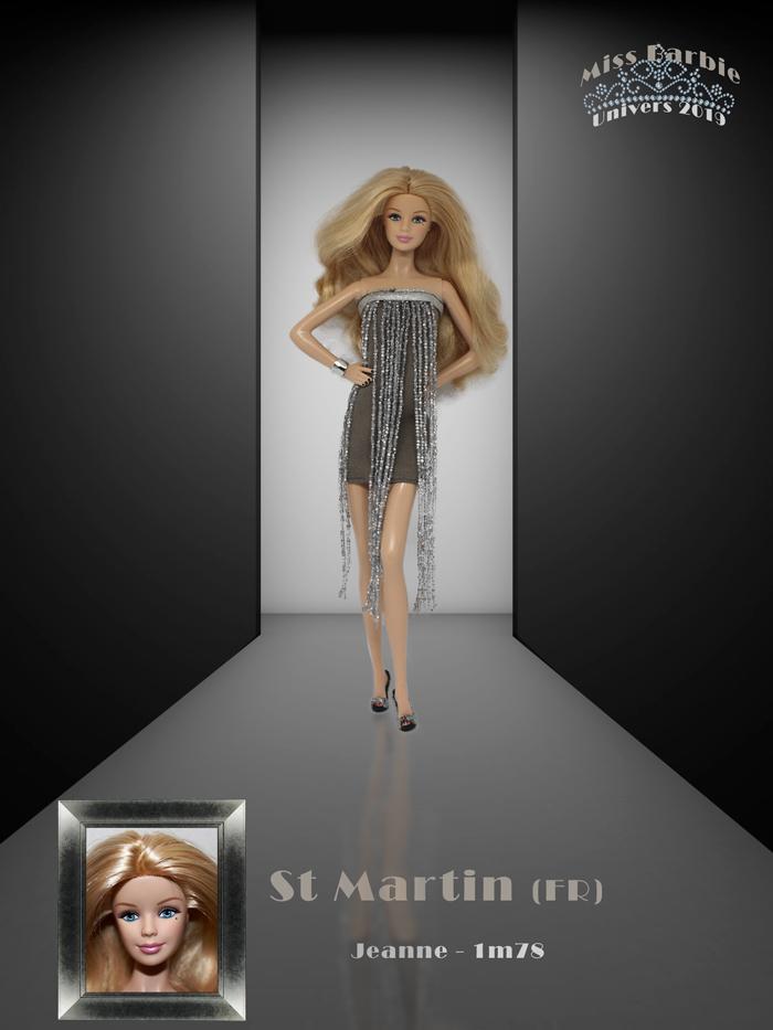 Miss Barbie Jeanne