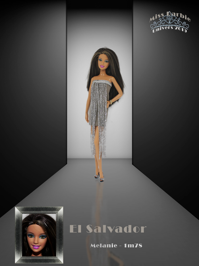 Miss Barbie Melanie
