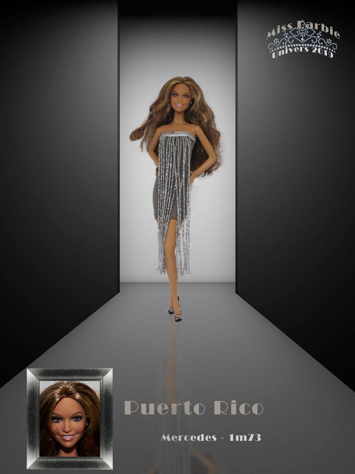 Miss Barbie Mercedes