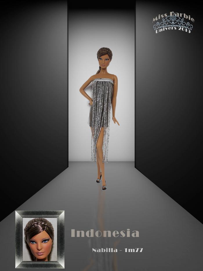 Miss Barbie Nabilla
