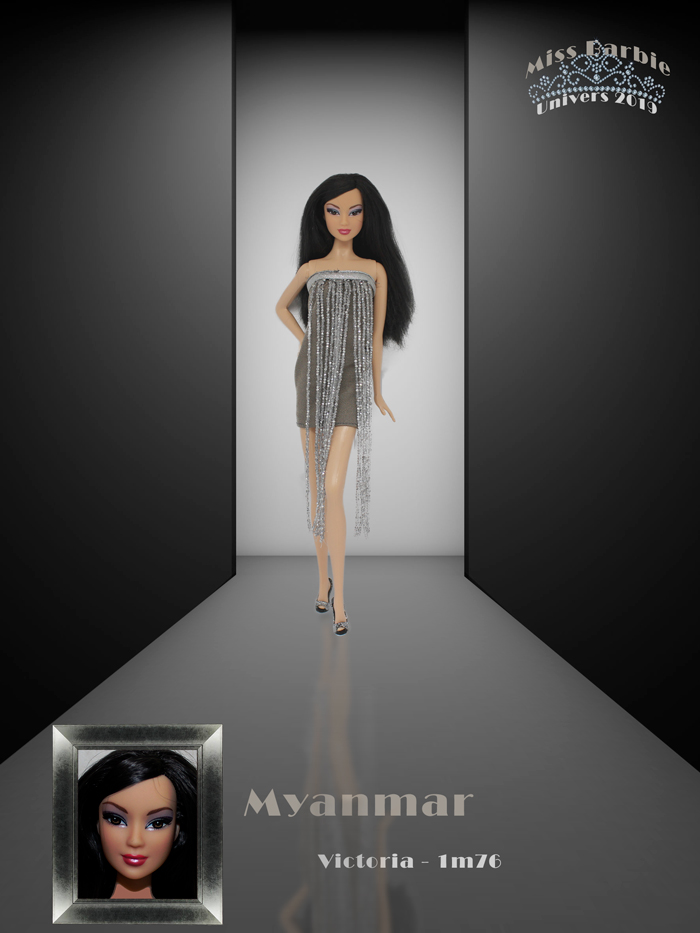 Miss Barbie Victoria