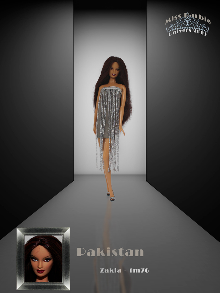 Miss Barbie Zakia