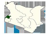 Drapeau Western Kenya
