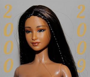 Barbie année 2000 à 2009