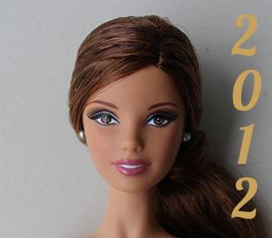 Barbie année 2012