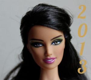 Barbie année 2013