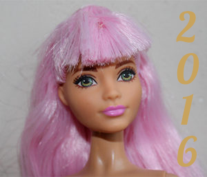 Barbie année 2016