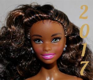 Barbie année 2017
