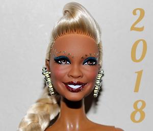 Barbie année 2018