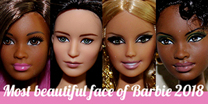 Visage Barbie 2018