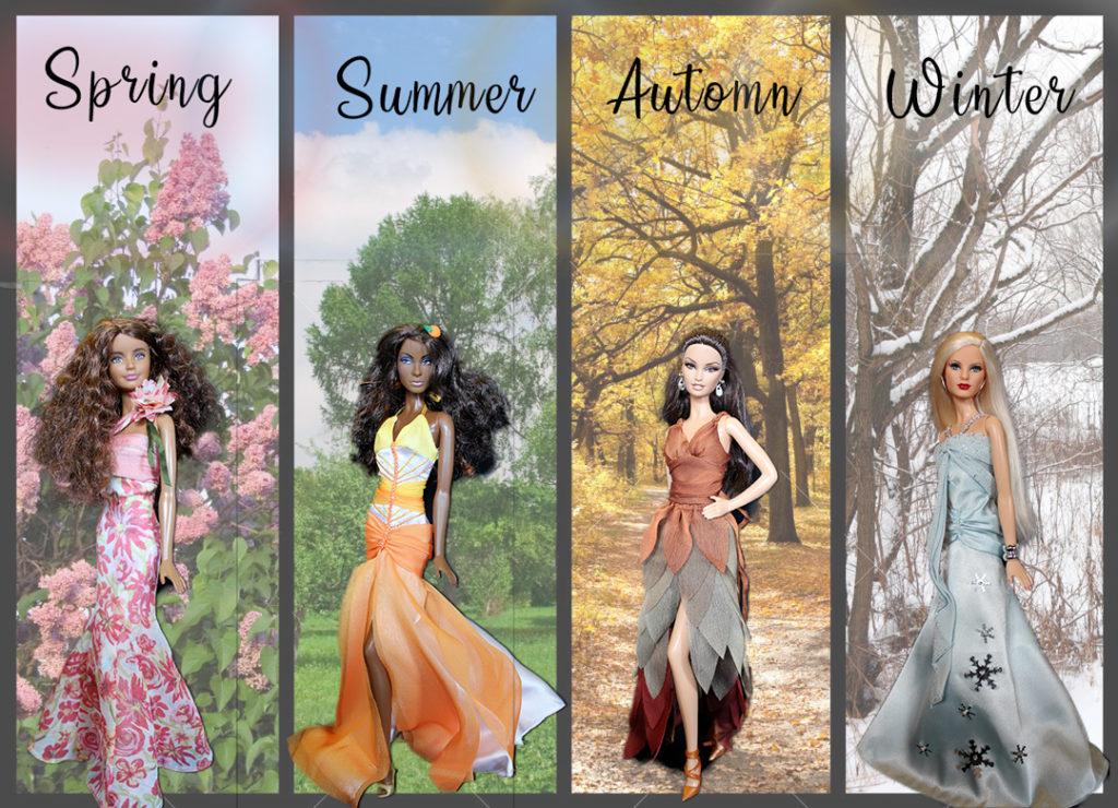 Barbie Xylia, Barbie Arantxa, Barbie Catriona, Barbie Rifka