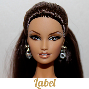 Barbie Collection Label