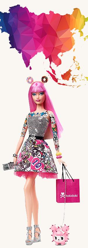 Barbie Monde Asie