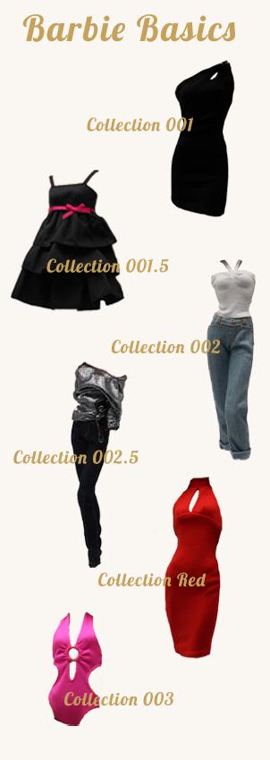 Collection Barbie Basics