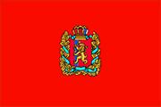Drapeau Krasnoïarsk
