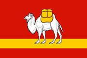 Drapeau Oblast Tcheliabinsk