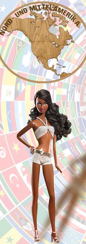 Barbie Monde Amerique Nord et Central