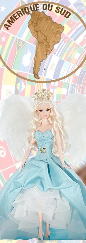 Barbie Monde Amerique Sud