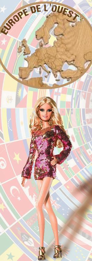 Barbie Monde Europe Ouest