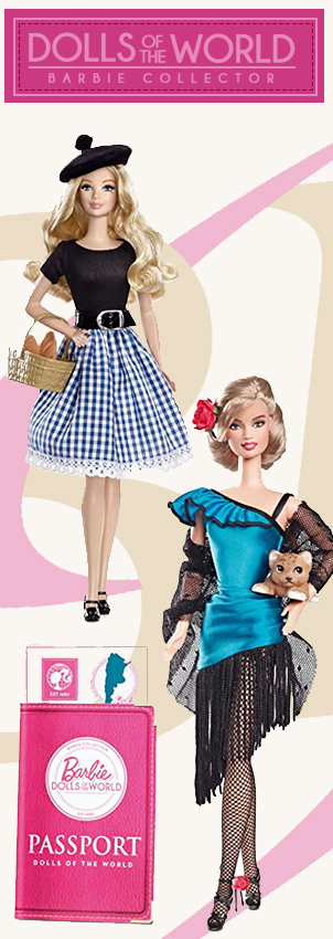 Barbie Dolls of the World Collection