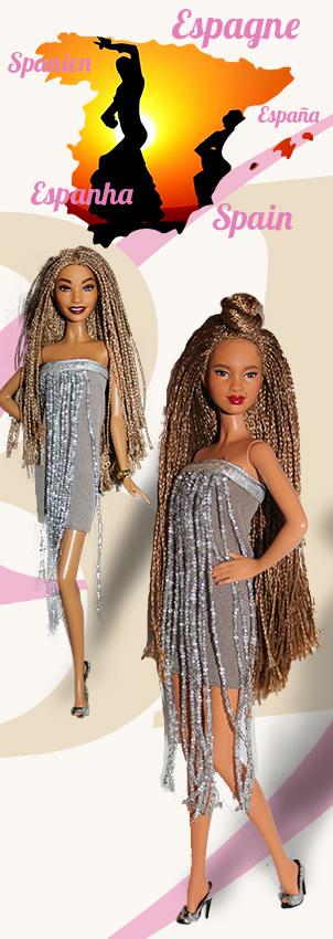 Barbie Monde Espagne
