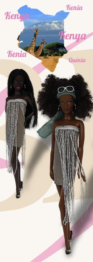 Barbie Monde Kenya