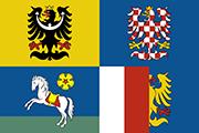 Drapeau Moravskoslezský