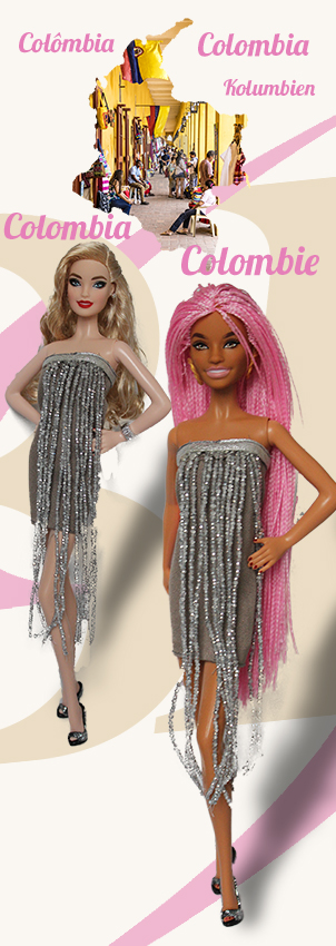Barbie Monde Colombie